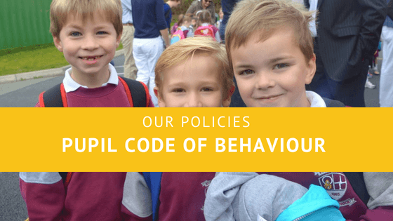 Code of Behaviour for Pupils