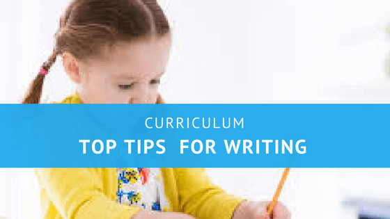 Top Ten  Writing Tips for Parents/Guardians