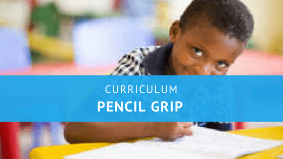 Has your child the correct pencil grip?