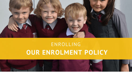 Our Enrolment Policy