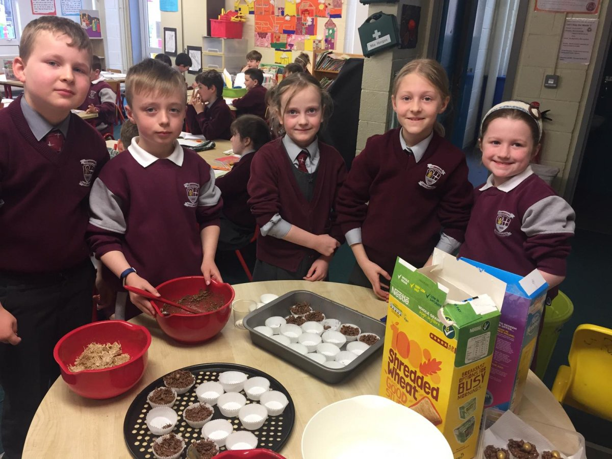 Easter Baking in 2nd