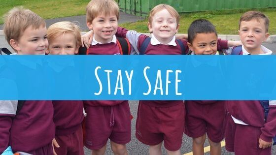 STAY SAFE ..Part of SPHE Curriculum