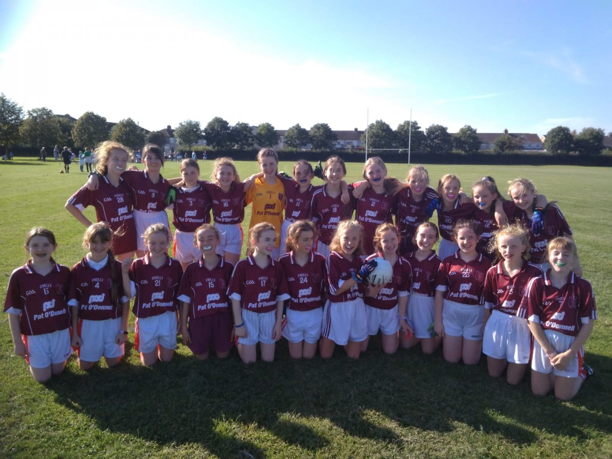 Girls Footballers Win
