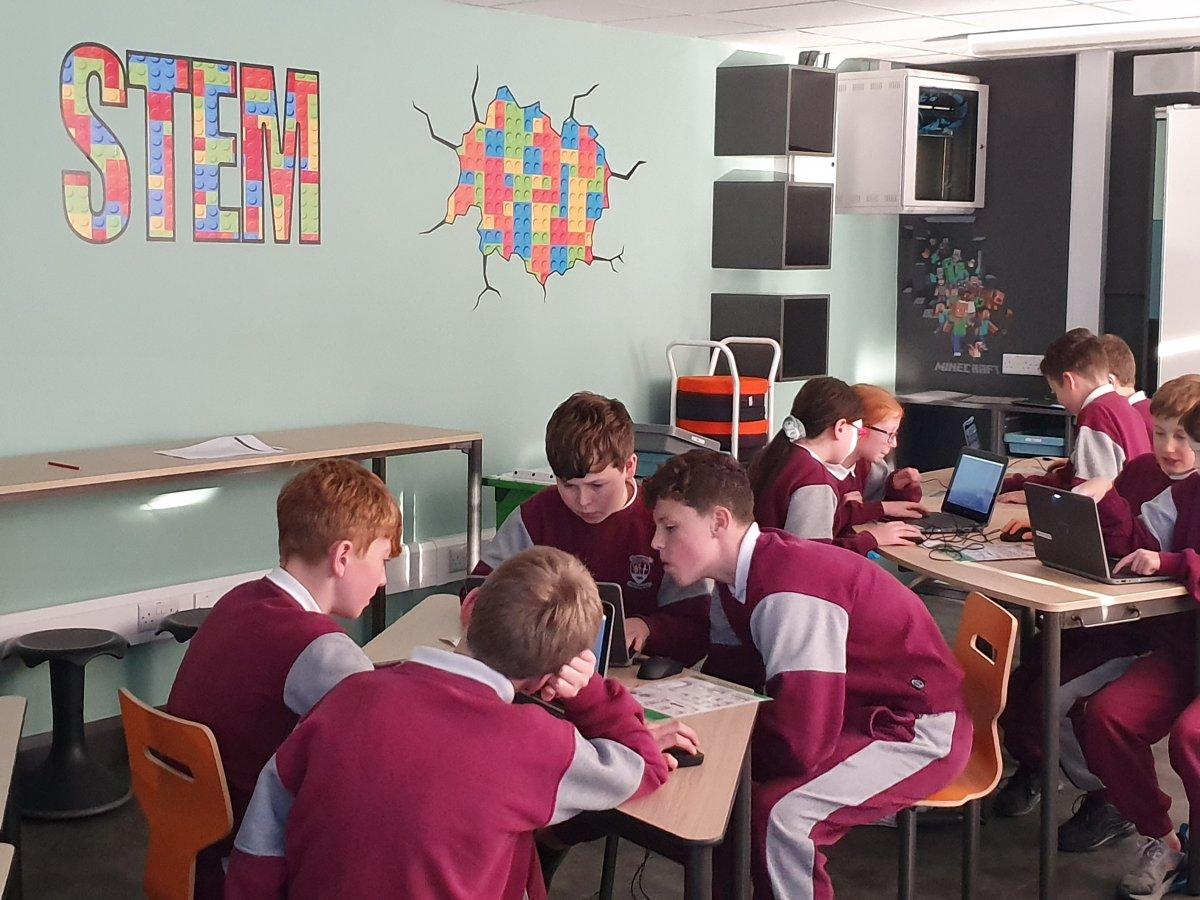 Minecraft Education 6th class