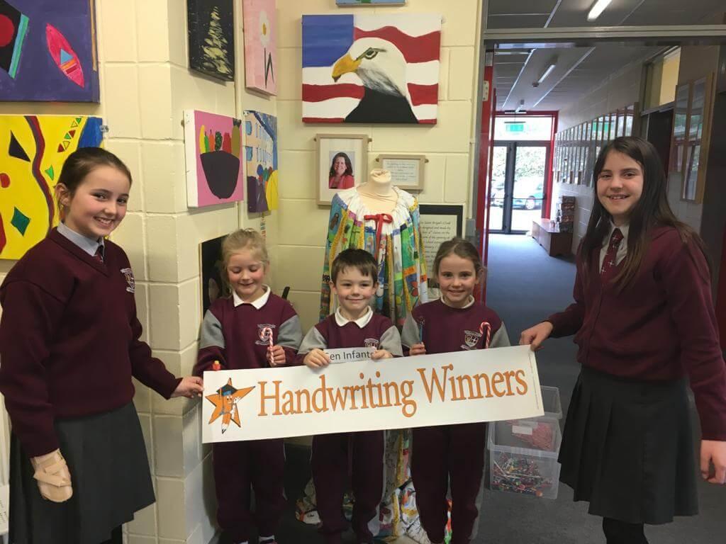 Handwriting …two more winners