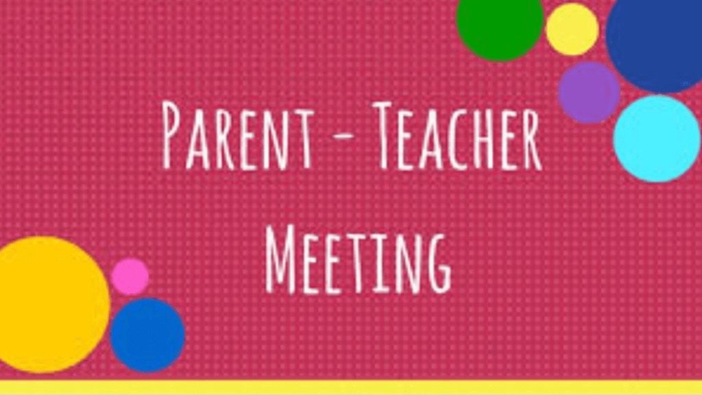 Letter re Parent Teacher Meetings