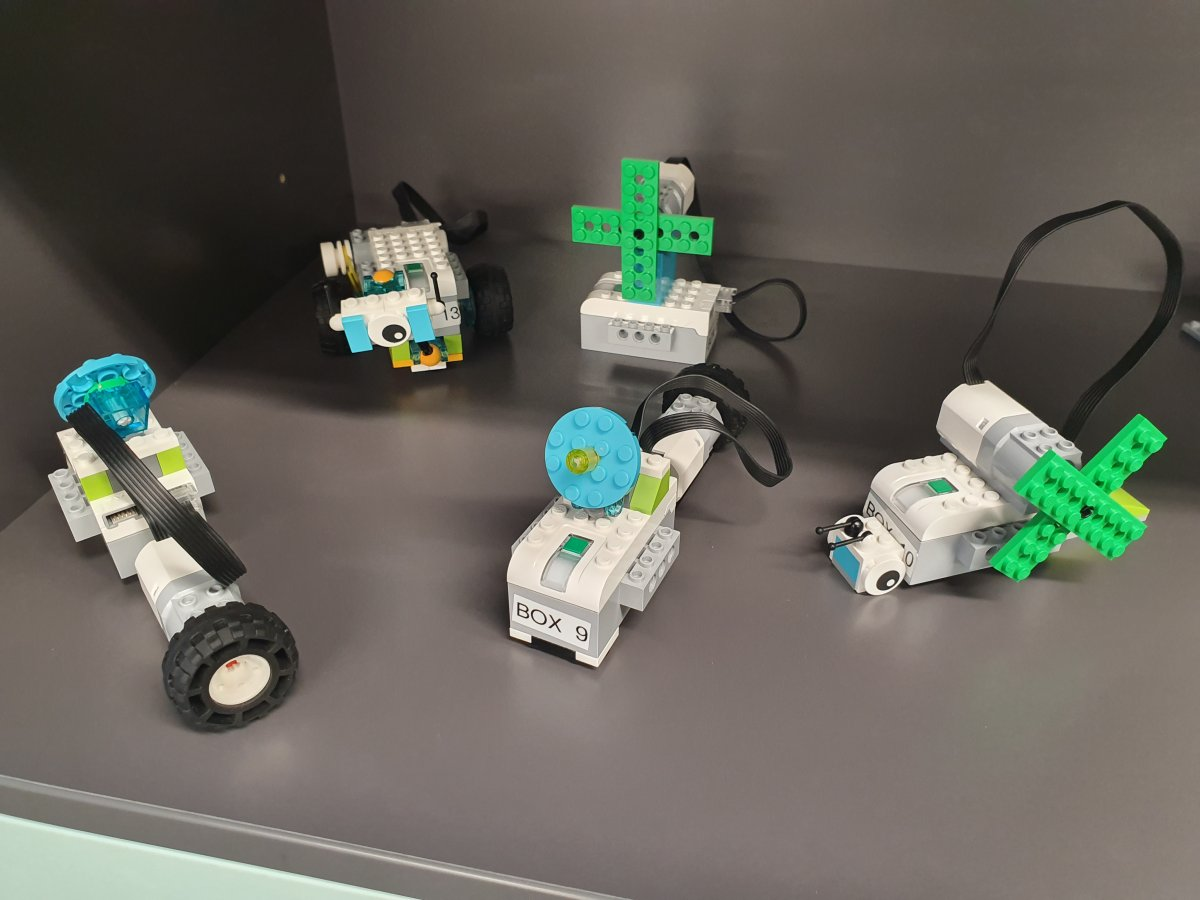 Room 21: WeDo 2.0 Lego