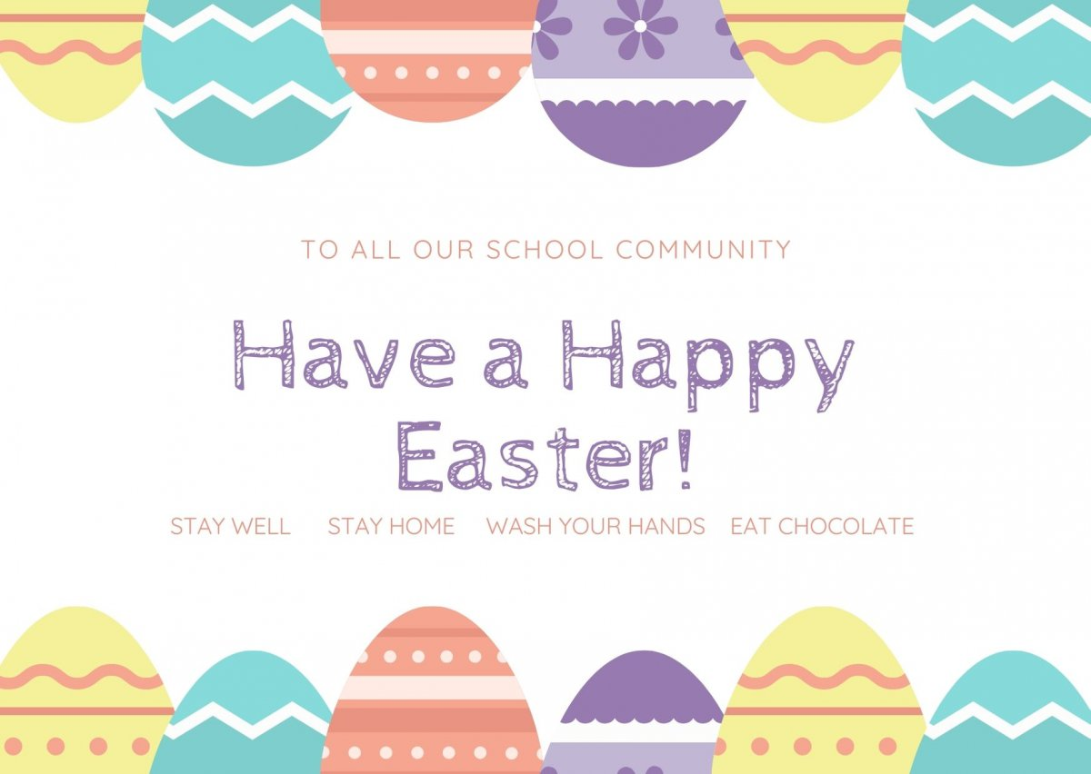 Happy Easter Holidays !