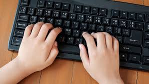 Touch Typing on Zoom