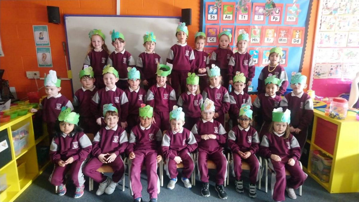 Our year in Junior Infants: Room 3