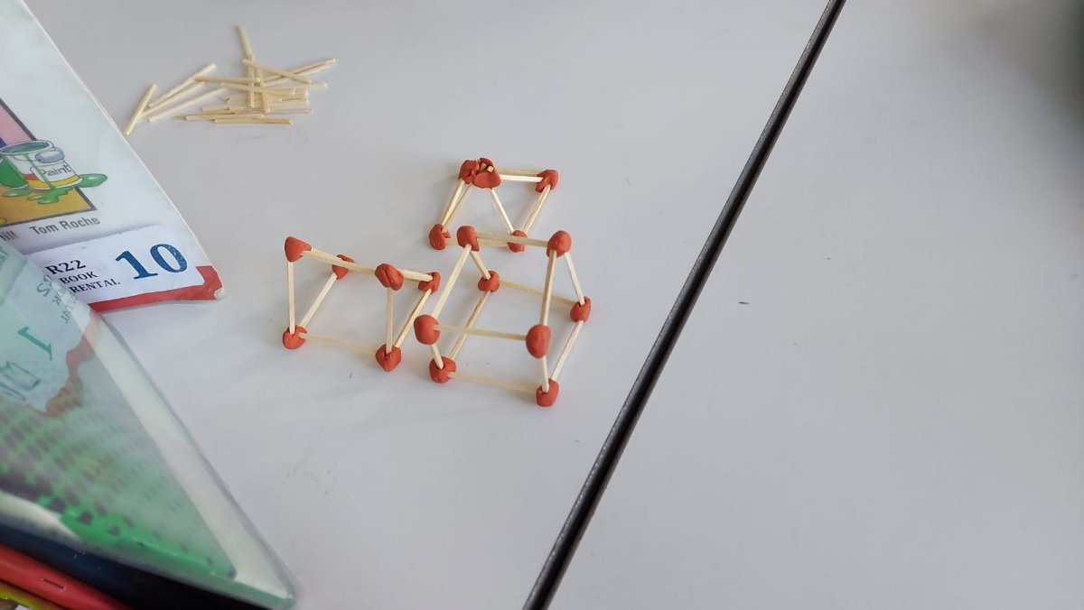 Constructing 3d shapes in 3rd class