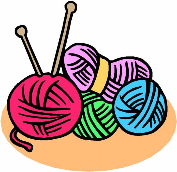 Knitting in Ms. O'Halloran's 3rd class