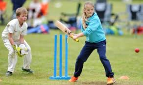 Cricket for Girls in Park
