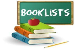 Book Lists September 2021.22
