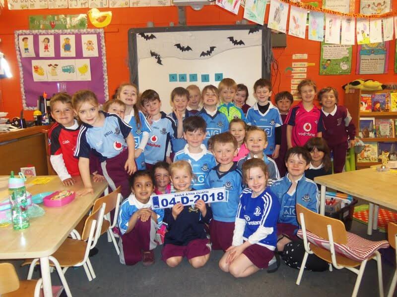 Maths Trails, Pumpkins and Dublin Jerseys