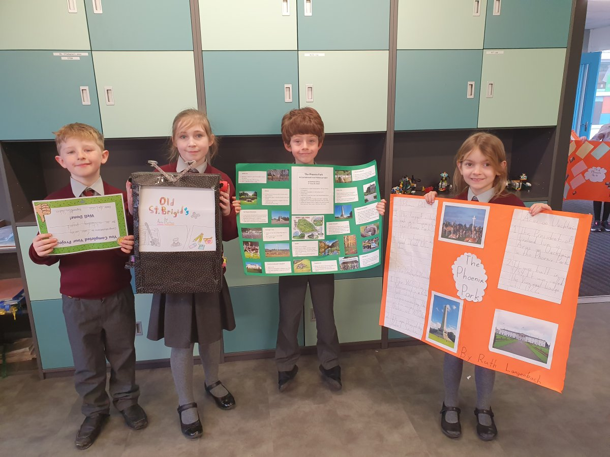Local History projects in 2nd class