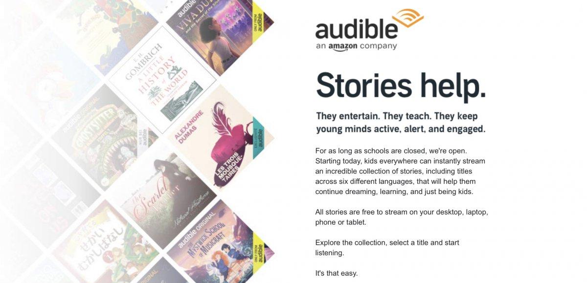 Audible Stories   Audible.com