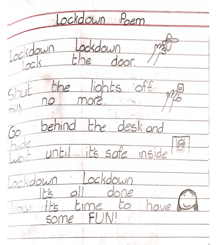 A poem about Lockdown by Lucie