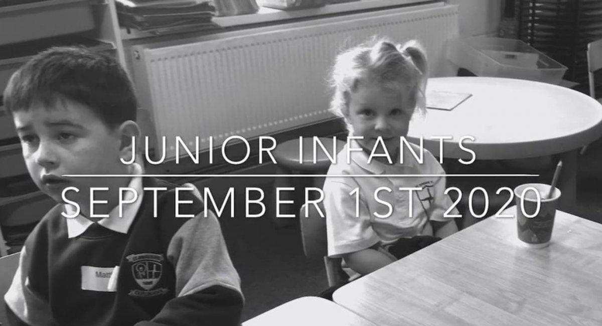 Junior Infants Day 1