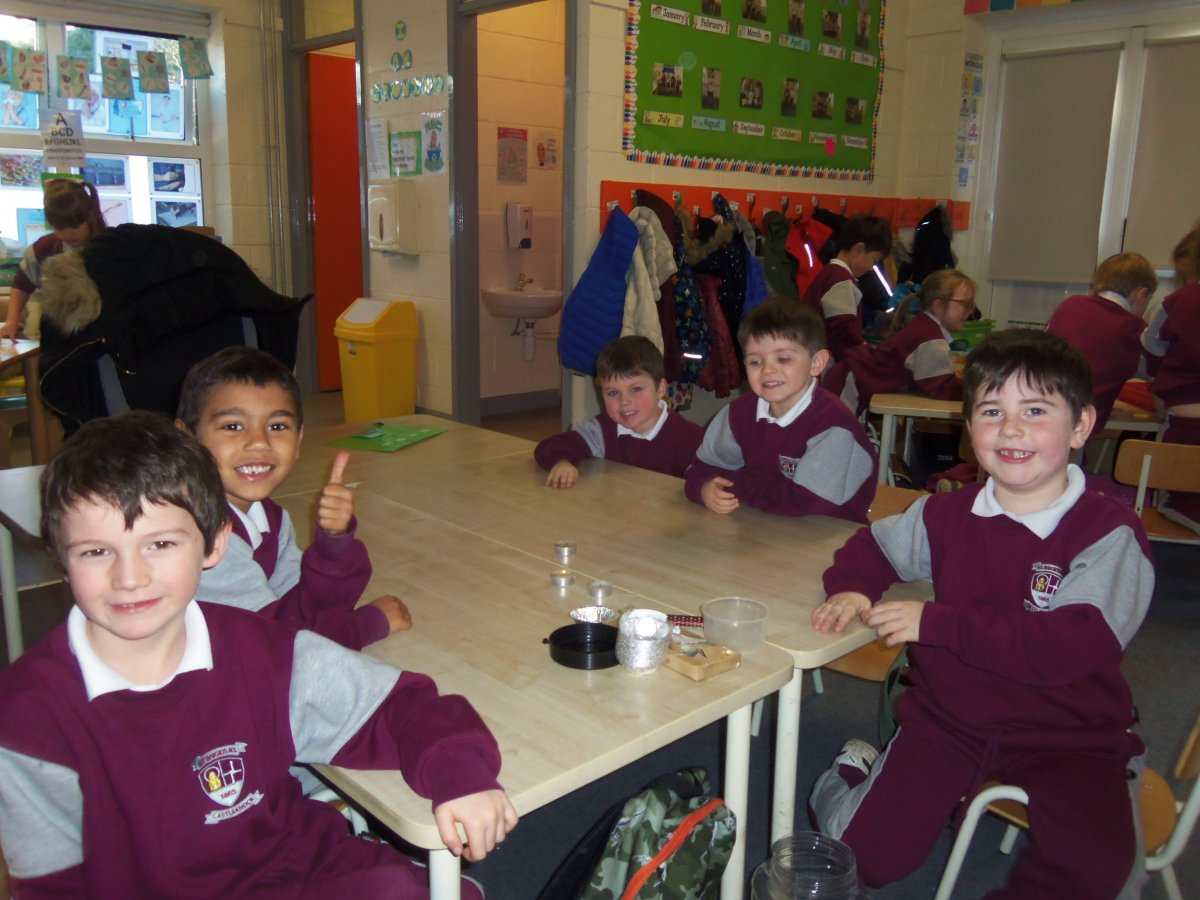 Science Week in Room 4                                    #scienceweek2020
