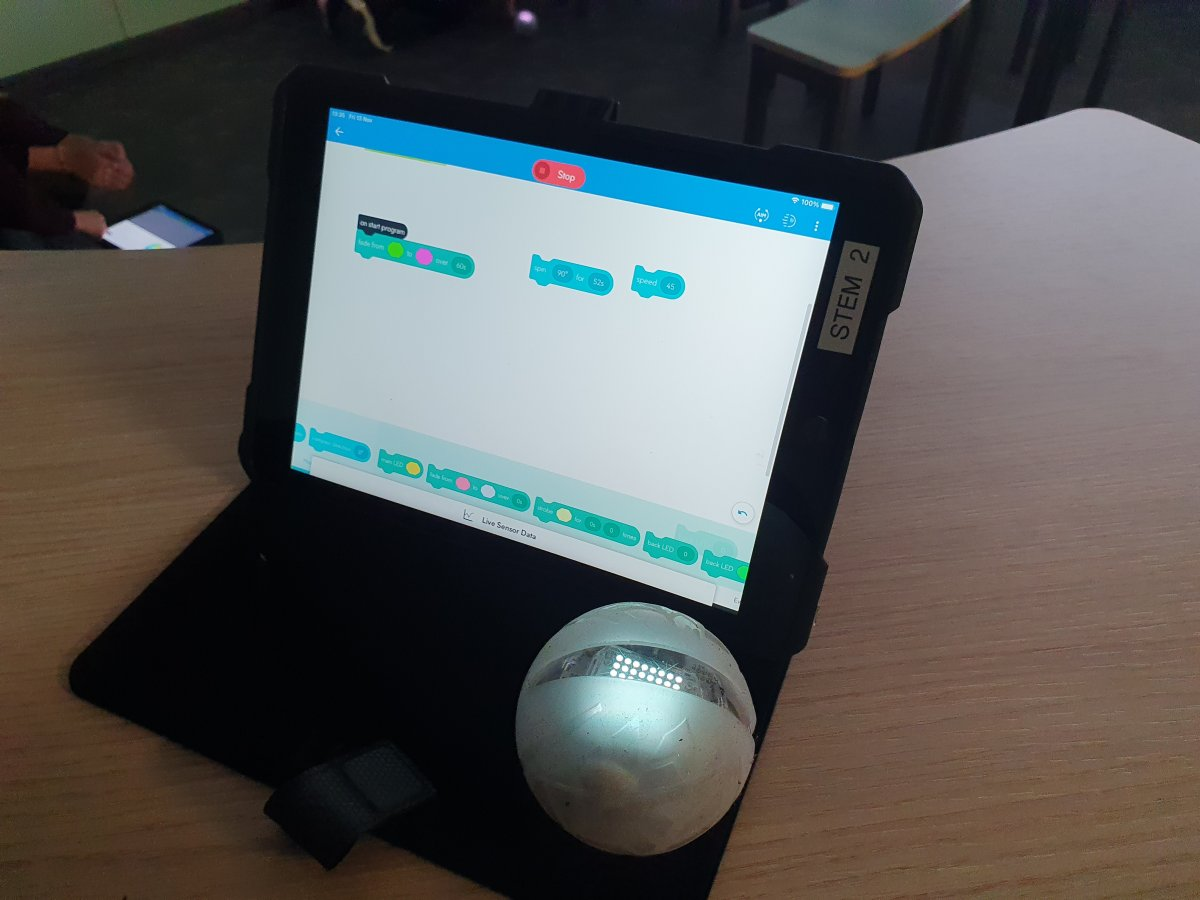 Coding with Sphero EDU: Room 30