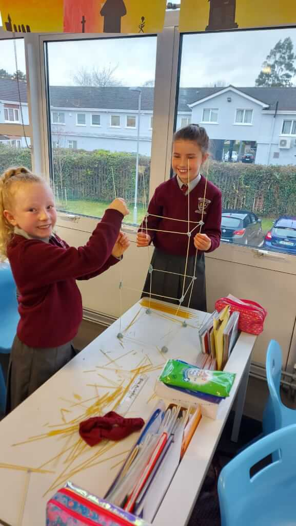 Future Engineers in 3rd class                                                      #scienceweek2020