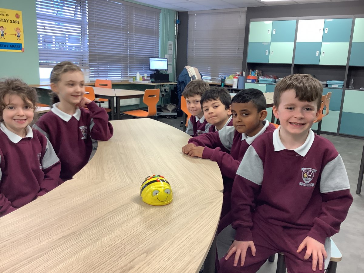 Coding with BeeBots: Room 5