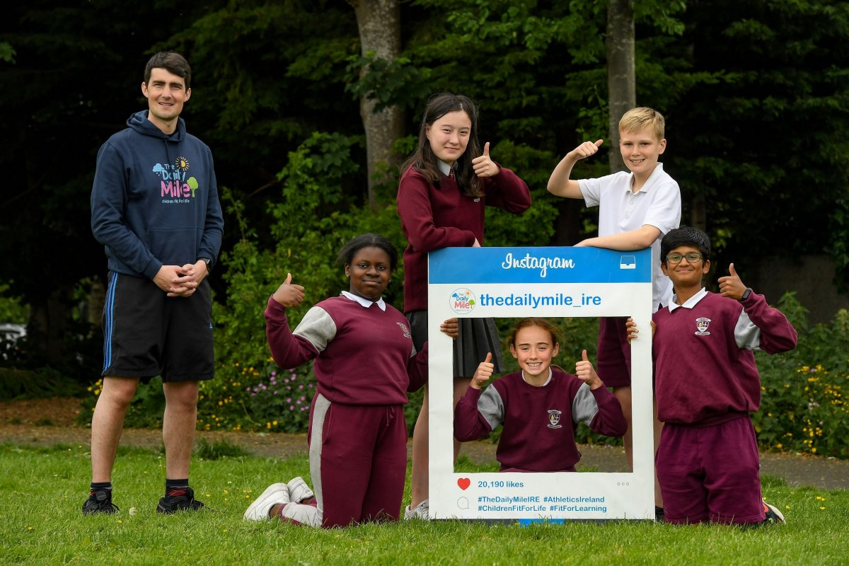 Daily Mile celebration                                                @thedailymile_ie